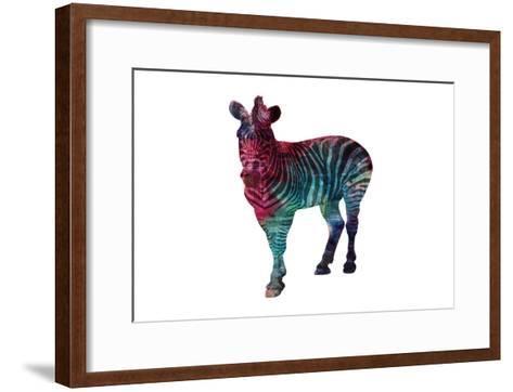 Stripes Of Colors-Sheldon Lewis-Framed Art Print