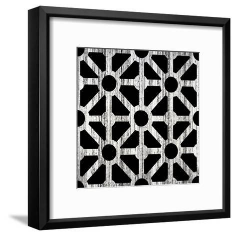 Black Fence 2-Victoria Brown-Framed Art Print