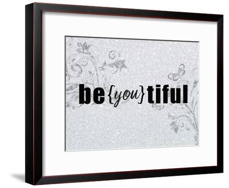 Be you tiful-Kimberly Allen-Framed Art Print