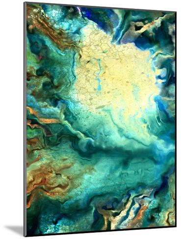 Teal Day 1-Kimberly Allen-Mounted Art Print