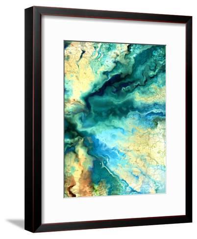 Teal Day 2-Kimberly Allen-Framed Art Print