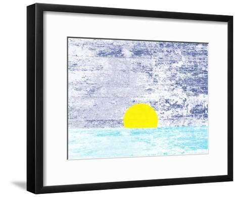 Somewhere In The Distance-Sheldon Lewis-Framed Art Print