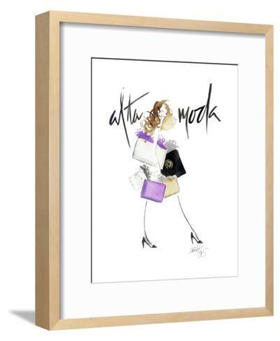 Alta Moda Purple-Alicia Zyburt-Framed Art Print
