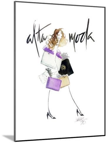 Alta Moda Purple-Alicia Zyburt-Mounted Art Print