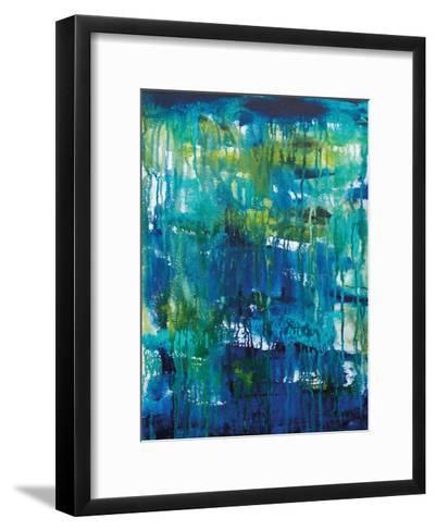 Water Abstraction-Pam Varacek-Framed Art Print
