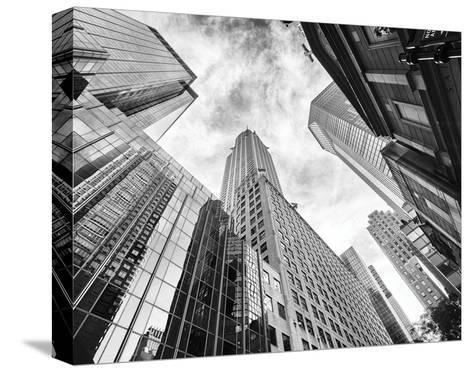 Skyscrapers-Stéphane Graciet-Stretched Canvas Print