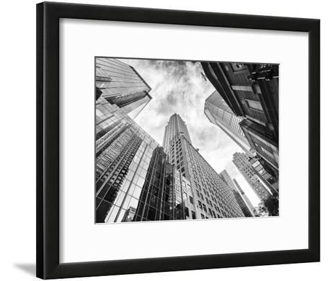 Skyscrapers-Stéphane Graciet-Framed Art Print