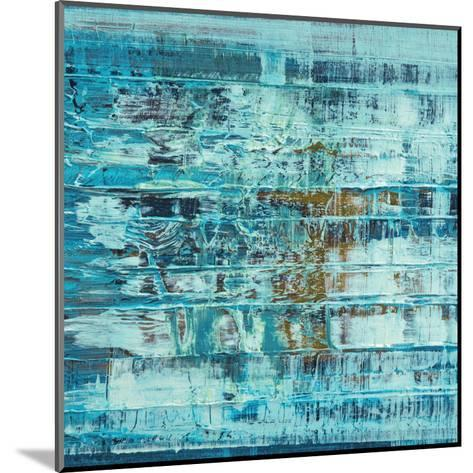 Turquoise Abstract--Mounted Art Print