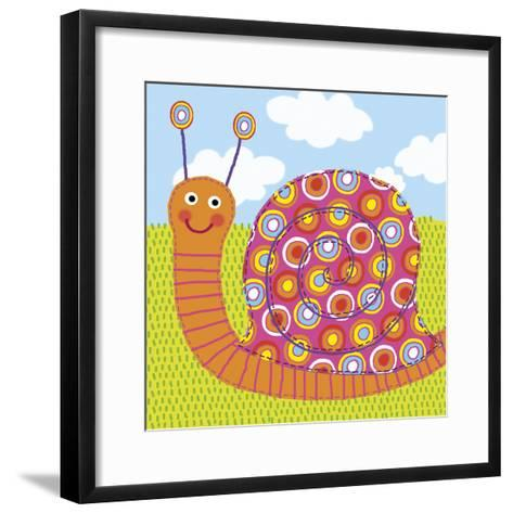 Sita The Snail-Jessie Eckel-Framed Art Print