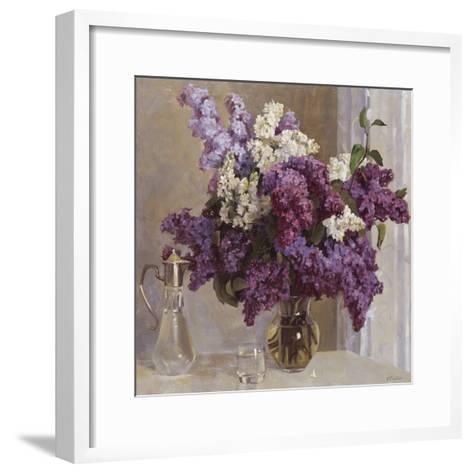 Lilac Mist I-Valeriy Chuikov-Framed Art Print