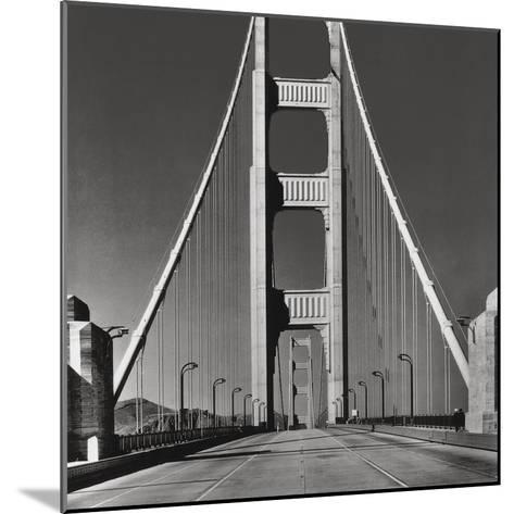 The Golden Gate Bridge, Summer AM-The Chelsea Collection-Mounted Giclee Print