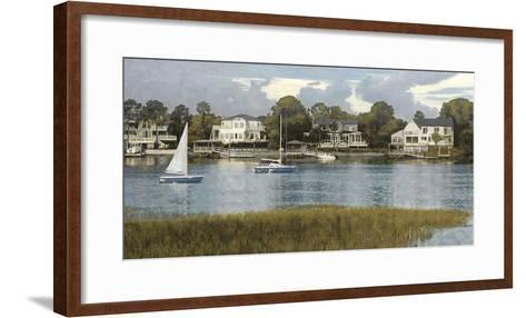 Waterside Reflection-Alan Lambert-Framed Art Print