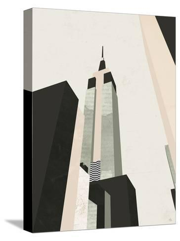 Empire State-Michelle Collins-Stretched Canvas Print