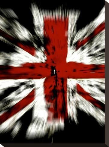 United Kingdom Flag-Wonderful Dream-Stretched Canvas Print