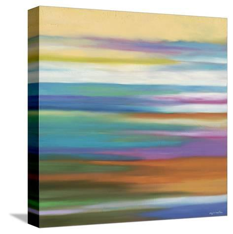 Painted Skies 4-Mary Johnston-Stretched Canvas Print