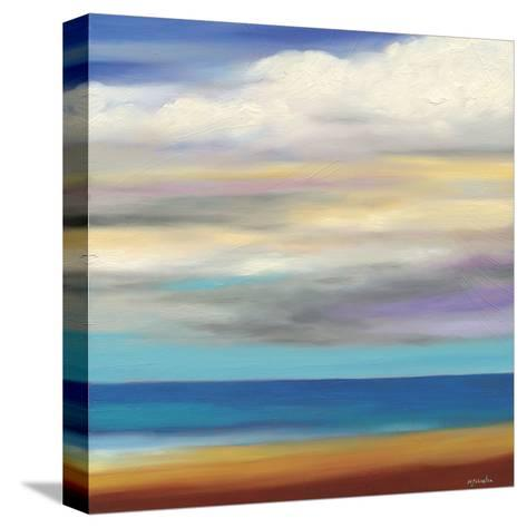 Beach Day-Mary Johnston-Stretched Canvas Print