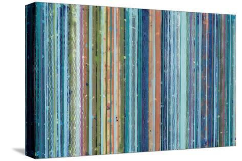 Surf-Maureen Holub-Stretched Canvas Print