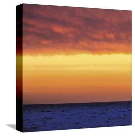 Ocean Square 1-Winslow Swift-Stretched Canvas Print