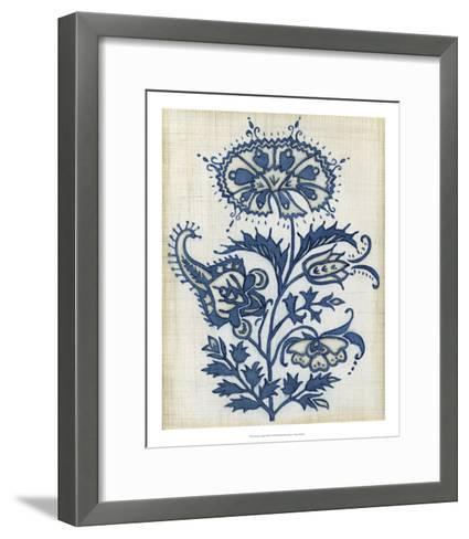 Eastern Indigo II-Megan Meagher-Framed Art Print