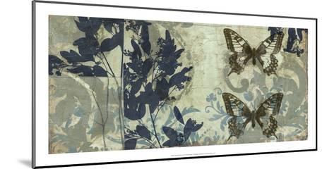 Butterfly Reverie II-Jennifer Goldberger-Mounted Premium Giclee Print