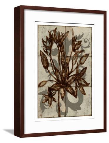 Rustic Allium-Jennifer Goldberger-Framed Art Print