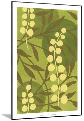 Florestial II-Nancy Slocum-Mounted Premium Giclee Print