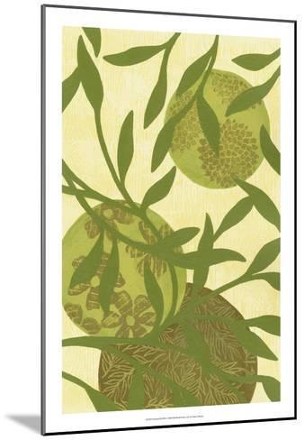 Florestial III-Nancy Slocum-Mounted Premium Giclee Print