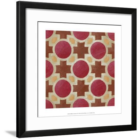 Brilliant Symmetry IV-Chariklia Zarris-Framed Art Print