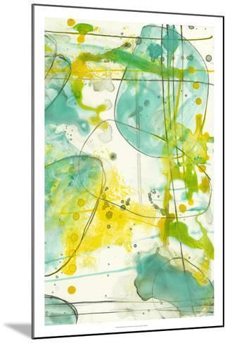 Splish Splash II-Jennifer Goldberger-Mounted Premium Giclee Print