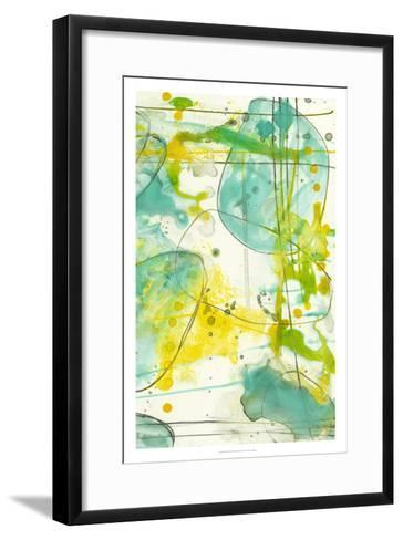 Splish Splash II-Jennifer Goldberger-Framed Art Print