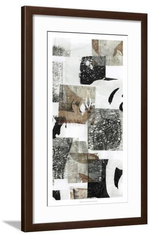 Reconstructed I-Jennifer Goldberger-Framed Art Print