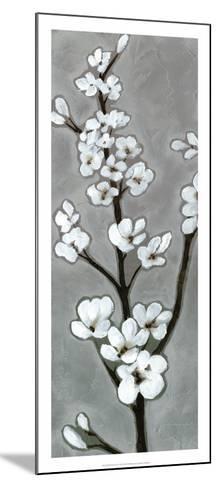 White Blossoms I-Jennifer Goldberger-Mounted Premium Giclee Print