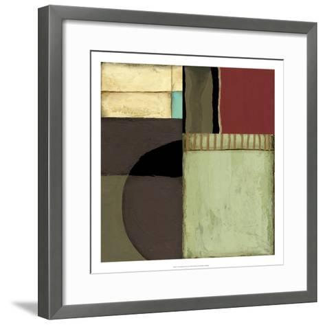 Loft Abstract II-Jennifer Goldberger-Framed Art Print