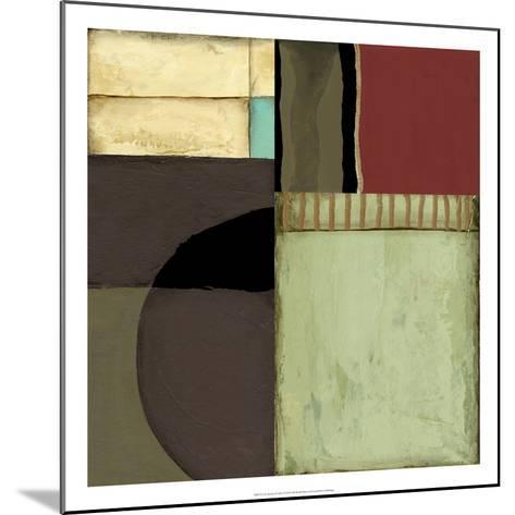 Loft Abstract II-Jennifer Goldberger-Mounted Premium Giclee Print