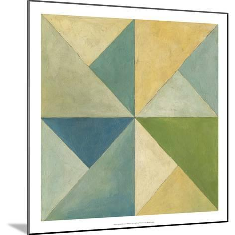 Quilted Abstract I-Megan Meagher-Mounted Premium Giclee Print
