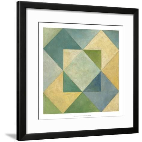 Quilted Abstract IV-Megan Meagher-Framed Art Print