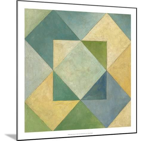Quilted Abstract IV-Megan Meagher-Mounted Premium Giclee Print