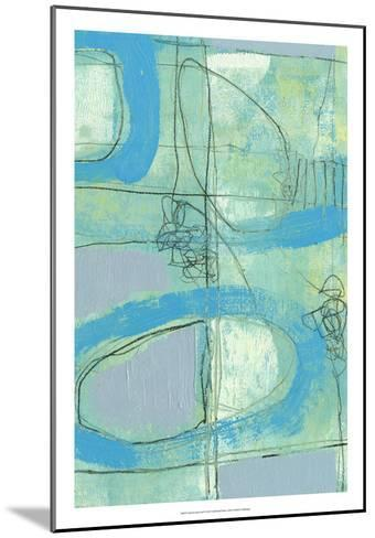 Fade in Fade Out II-Jennifer Goldberger-Mounted Premium Giclee Print