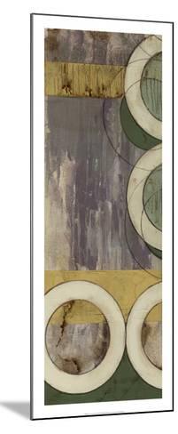 Concentric II-Jennifer Goldberger-Mounted Premium Giclee Print