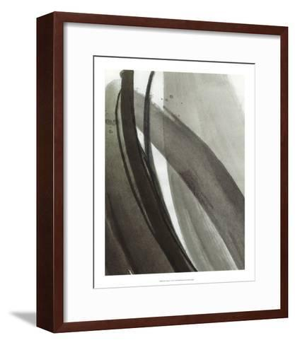 Ink Abstract I-Ethan Harper-Framed Art Print