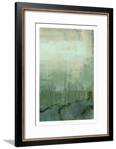 Emerald Sky II-Jennifer Goldberger-Framed Art Print