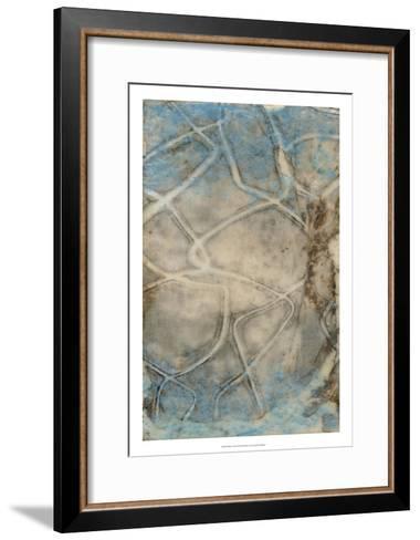 Pebbles I-Jennifer Goldberger-Framed Art Print