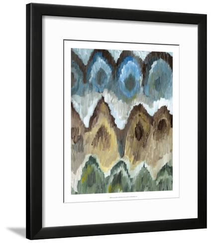 Flame Stitch Pattern II-Lisa Choate-Framed Art Print