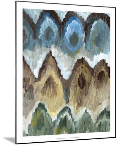Flame Stitch Pattern II-Lisa Choate-Mounted Premium Giclee Print