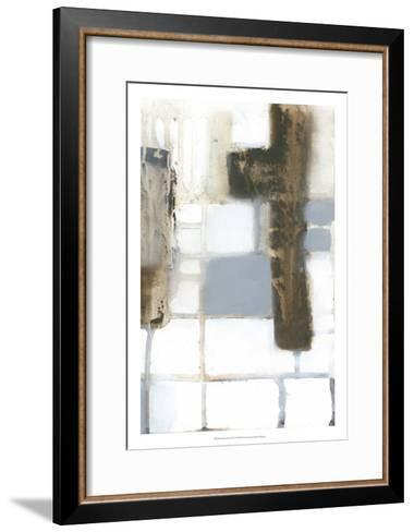 Modular Layout II-Jennifer Goldberger-Framed Art Print