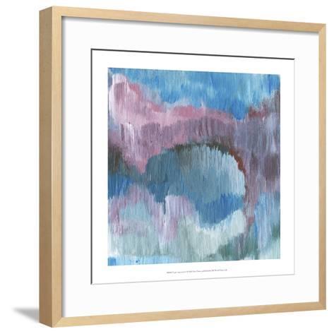 Lapis Impressions I-Lisa Choate-Framed Art Print