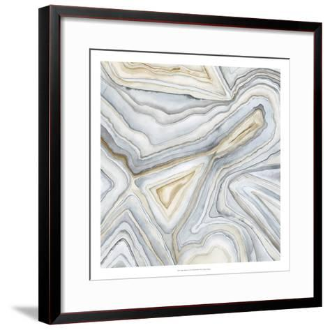 Agate Abstract I-Megan Meagher-Framed Art Print