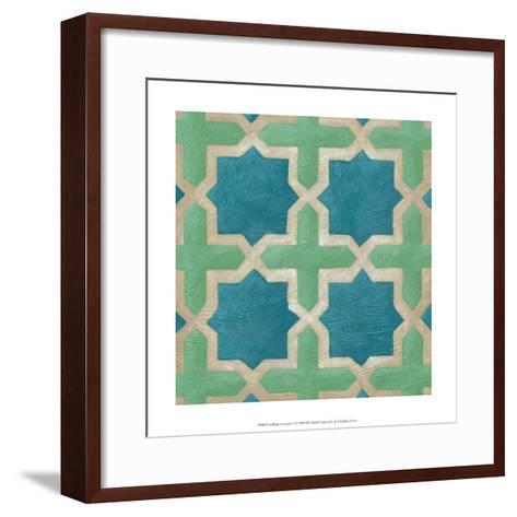 Brilliant Symmetry I-Chariklia Zarris-Framed Art Print
