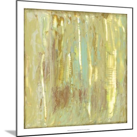 Lime Fusion II-Jennifer Goldberger-Mounted Premium Giclee Print