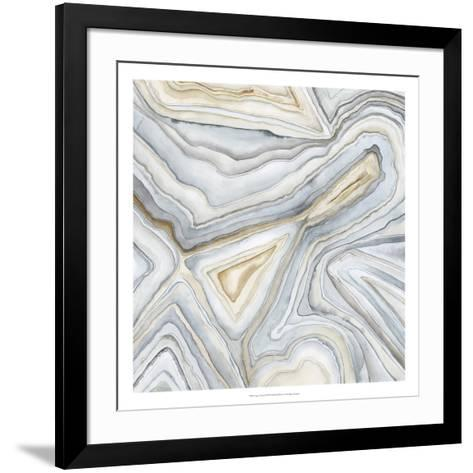 Agate Abstract I-Megan Meagher-Framed Art Print